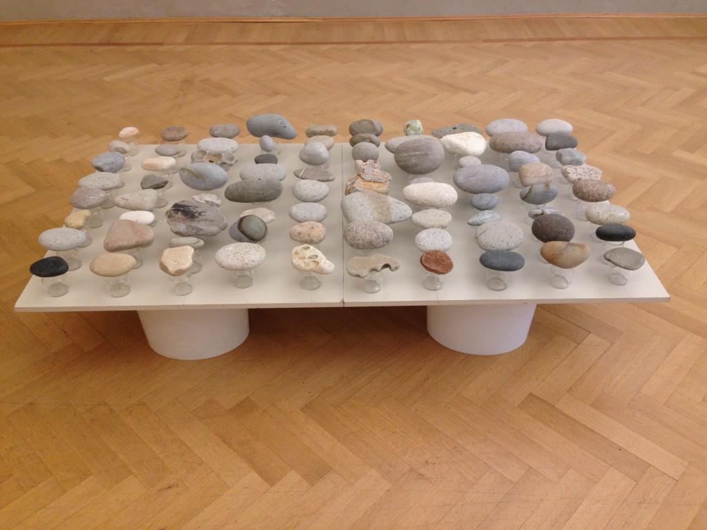suspended rocks