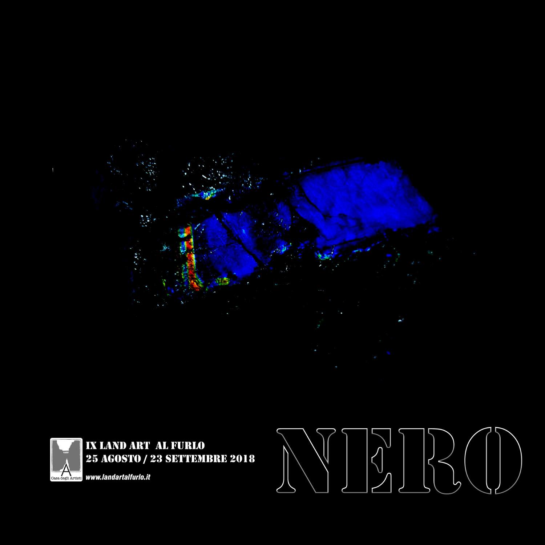 Nero IX land art al furlo sito